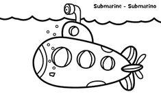 Aneka Gambar Mewarnai 20 Gambar Mewarnai Kapal Laut Untuk Anak