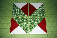 Would love to see this as a whole quilt! Ryan Walsh Quilts, Modern Quilts, Sewing, Home Decor, Fabric: Ryan's Holiday Ribbon Block - Celebrate Christmas Quilt Along Quilting Tutorials, Quilting Projects, Quilting Designs, Quilting Tips, Patch Quilt, Quilt Block Patterns, Quilt Blocks, Quilt Boarders, Quilt Modernen