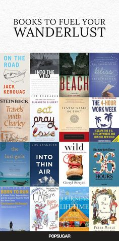 If you suffer from acute wanderlust, and you're constantly trying to find ways to fit another trip into your schedule, then you might be addicted to traveling. Here are 18 books, both fiction and nonfiction, that will get you in the mood to jet off to ano Non Fiction, Fiction And Nonfiction, Fiction Books, Up Book, Book Nerd, Reading Lists, Book Lists, Lectures, Reading Material