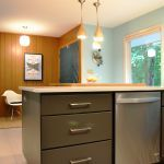 Very modern kitchen with sleek lines and great accents - The Affordable Companies