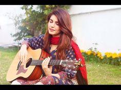 Momina Mustehsan New Song Mere Bina Cover Pakistani Songs, Pakistani Actress, Girl Hiding Face, Guitar Girl, Bride Photography, Girls Dpz, Muslim Women, Celebs, Celebrities