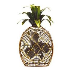 Evoke cool summer breezes in your home with this masterfully crafted fan.  Product: Figurine fanConstruction Material: MetalColor: MultiDimensions: 16 H x 10 W x 6 D (overall)