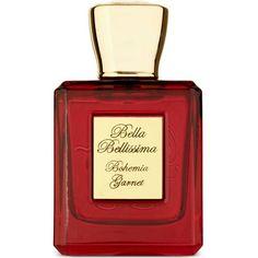 BELLA BELLISSIMA Bohemia garnet eau de parfum 50ml ($275) ❤ liked on Polyvore featuring beauty products, fragrance, perfume, makeup, beauty, fillers, perfume fragrances, eau de perfume, flower fragrance and eau de parfum perfume