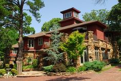 Cedar Rock Inn is a romantic bed and breakfast located in a renovated 1890s mansion on the outskirts of Tulsa.