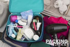 Day 25: Pro Tips for Maximizing with Mini Toiletries - SmarterTravel.com  includes sources for lots of mini tools and products