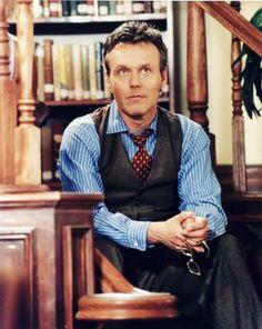 Anthony Stewart Head as Giles. Making librarians sexy since 1997.