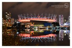 Rogers Arena (formerly BC Place Stadium) in Vancouver, BC