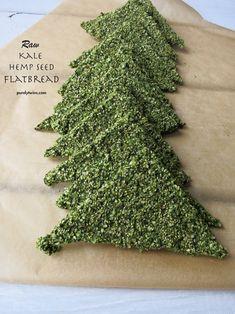 how to make raw vegan grain-free gluten-free kale hemp seed flatbread with purelytwins