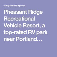 Find This Pin And More On Oregon RV Parks