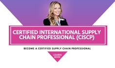 Become Certified International Supply Chain Professional