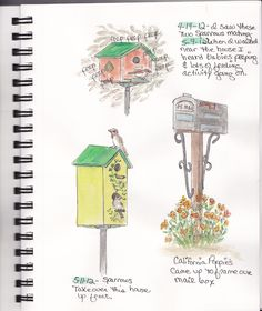 Nature journal ideas. Plus the blog is inspiring as well.