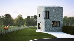 House H by Van de Kerckhove Architecten I See more at www.vandekerckhovearchitecten.be