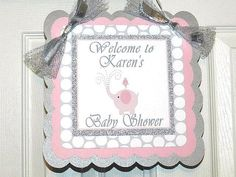Elephant Baby Shower-Elephant Welcome Sign- Elephant Baby Shower Decoration- Elephant Baby Shower on Etsy, $15.00