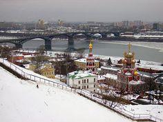 Nizhny Novgorod on the Oka