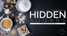 The Ultimate List of Hidden Sugars http://ift.tt/2G4eisJ...