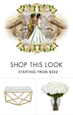 """Mariage"" by liligwada ❤ liked on Polyvore featuring Nearly Natural"
