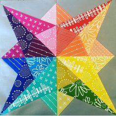 Milky Way Sampler: Block 5 - Vega   Quilt blocks, Quilting and ... : milky way quilt pattern - Adamdwight.com