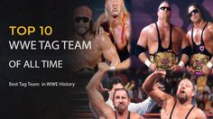 Did you know who are the Best WWE Tag Team of All Time in WWE History? so improve the knowledge about WWE Sports. Top 10 WWE Tag Team who show the power in W. Wwe Sports, Nhl, All About Time, Boxer, Knowledge, Football, Tags, History, Soccer