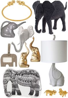I love elephants and think they're amazing.  They are also pleasing to the eye.  via Design Sponge