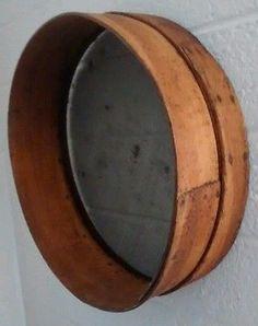 Antique Primitive Flour, Grain, Wooden Bent Sieve, Sifter