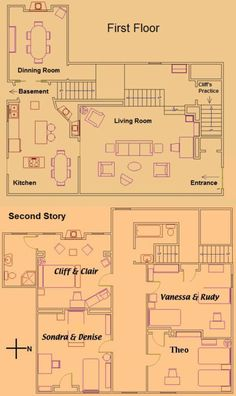 The Cosby Show home