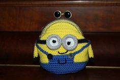Handmade by Alpenkatzen All Craft, Minions, Coin Purse, Beanie, Diy Crafts, Wallet, Purses, My Love, Hats