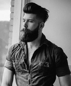 Barbas #menshairstyles #beards