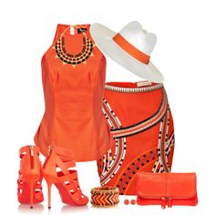 Tribal, created by smylin on Polyvore
