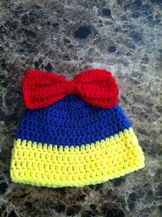 Snow White Hat on Etsy, $9.00
