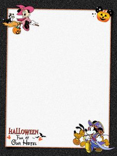 "Halloween Fun At Our Hotel - Project Life Journal Card - Scrapbooking. ~~~~~~~~~ Size: 3x4"" @ 300 dpi. This card is **Personal use only - NOT for sale/resale** Logos/clipart belong to Disney. Font is Waltograph www.dafont.com/... ***Click through to photobucket for more versions of this card :) ***"