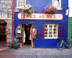 Old Vintage Shop in Galway, Ireland