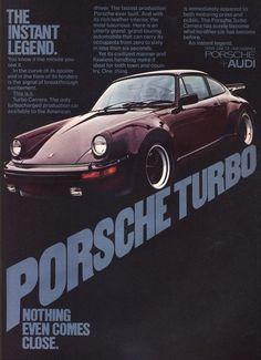 Porsche 930 Turbo ad