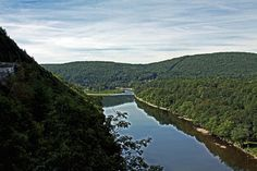 Delaware River as seen from Hawk's Nest - Rte. 97, NY #2