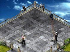 all on deck, love MC Escher type illusion! Escher Kunst, Escher Art, Mc Escher, Optical Illusion Photos, Optical Illusions Pictures, Illusion Pictures, Image Illusion, Illusion Art, Illusion Kunst