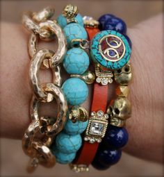 - Skulls and Turquoise-