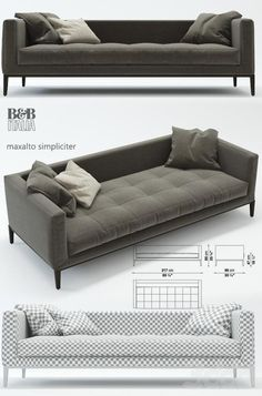 b&b italia maxalto simpliciter, диван: - Best Pins Live Concrete Furniture, Sofa Furniture, Furniture Design, Home Decor Furniture, Single Sofa, Luxury Sofa, Sofa Upholstery, Sofa Sale, Sofa Covers