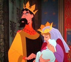 King Stefan, Sleeping Beauty