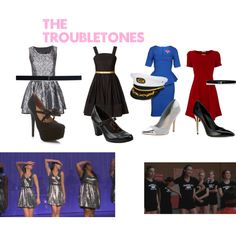 """""""The Troubletones"""" by ashley-nicole-parris on Polyvore"""