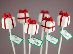 Valentine Crafts: Pretty Presents Cake Pops by @Bakerella, via @CraftFoxes
