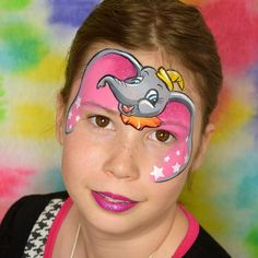 Face Painting Designs, Paint Designs, Body Painting, Elephant Face, Giraffe, Fantasy Make Up, Movie Characters, Zoo Animals, Mask Design