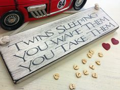 Twin Gifts | ... for twins perfect for the twins nursery or a christening gift or even
