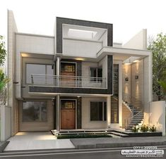 Image result for modern house front elevation designs