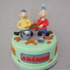 Dětské dorty - Fotoalbum - dětské dorty - dort A je to! - Pat a Mat (Pat & Mat cake) - 1116