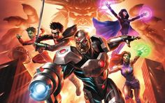 Justice League vs. Teen Titans Release Date Revealed