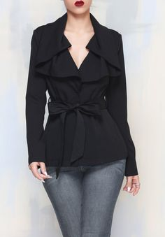 ALL TIED UP JACKET from Kosmios