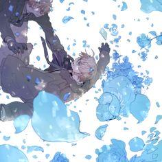 ...it's like blue roses... - Hetalia - America / England