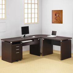 Kleine, Dunkle Holz Computer Schreibtisch, Büro Möbel Für Zu Hause  Wand Einheiten Können