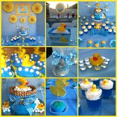 Rubber Duckies Baby Shower Party Ideas | Photo 1 of 14 | Catch My Party