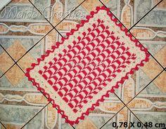 Maida Crochês: Tapete de Trança em Crochê