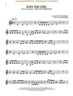 free printable french horn sheet music easy | Disney Movie Favorites